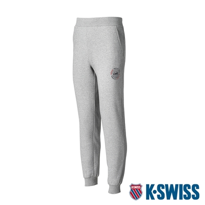 K-SWISS Sunshine Sweatpants保暖運動長褲-男-灰