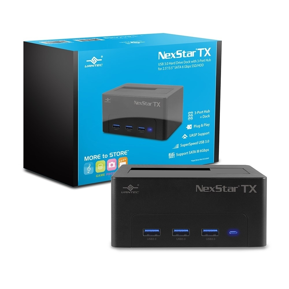 凡達克-NexStar TX USB3.0 硬碟及USB集線器外接座