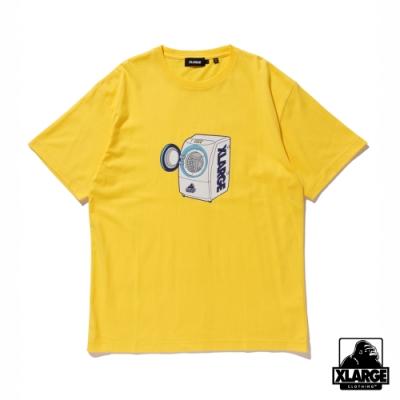 XLARGE S/S TEE WASHING MACHINE短袖T恤-黃