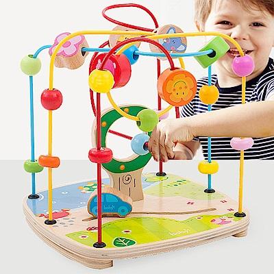 Boby 木製大號寶寶學習串珠玩具-三款可選(兒童串珠)18m+