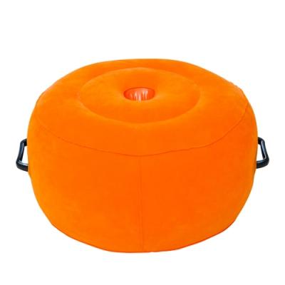 圓柱小愛墊 SM細絨充氣墊(可放吸盤型逼真棒)-獨特把手設計