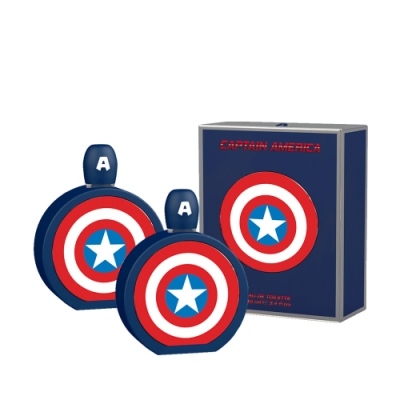 (買1送1)MARVEL CAPTAIN AMERICA 美國隊長男性香水 100ml