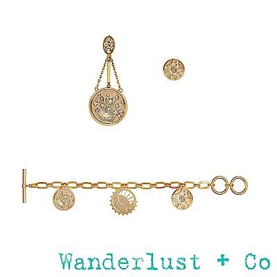 [時尚套組] Wanderlust + Co 宇宙耳環手鍊組