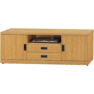 綠活居 布斯尼時尚5尺美型電視櫃/視聽櫃-150x40x54cm免組