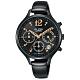 ALBA雅柏 經典俏皮時尚腕錶-黑36mm(VD53-X335SD/AT3F19X1) product thumbnail 1