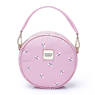 VOVAROVA空氣包-甜甜圈側背包-French Pom Pom(Pink)