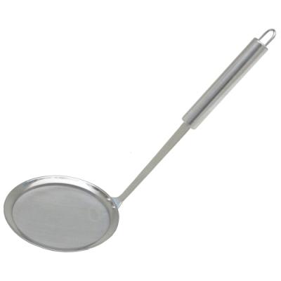 月陽食品級304不鏽鋼大號油切濾油網撈油勺(OS116)