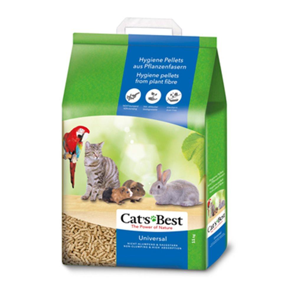 德國凱優 CAT S BEST 藍標 粗粒木屑砂 20L (11kg) 兩包組