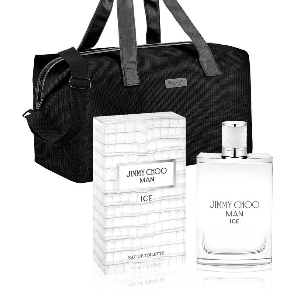 JIMMY CHOO 冷冽男性淡香水100ml(贈JIMMY CHOO旅行包)