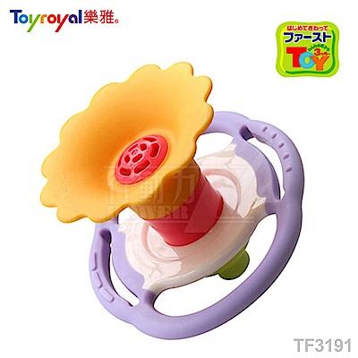 【任選】日本《樂雅 Toyroyal》LOVE系列-吹笛固齒玩具(有聲音)