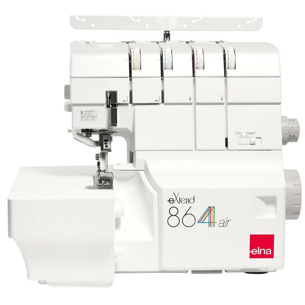 瑞士 elna extend 空氣自動穿線拷克機 864