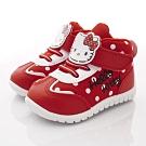 HelloKitty童鞋 輕量點點短靴款 SE19843紅(中小童段)