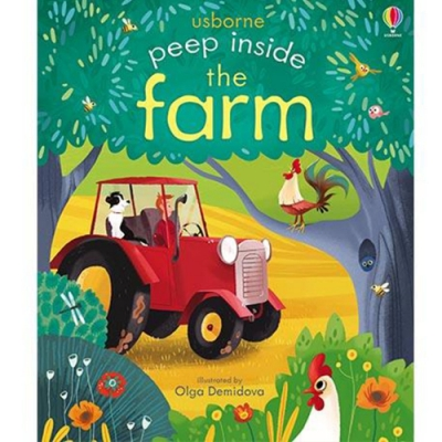 Peep Inside The Farm 瞧瞧看翻頁操作書:鄉村農場