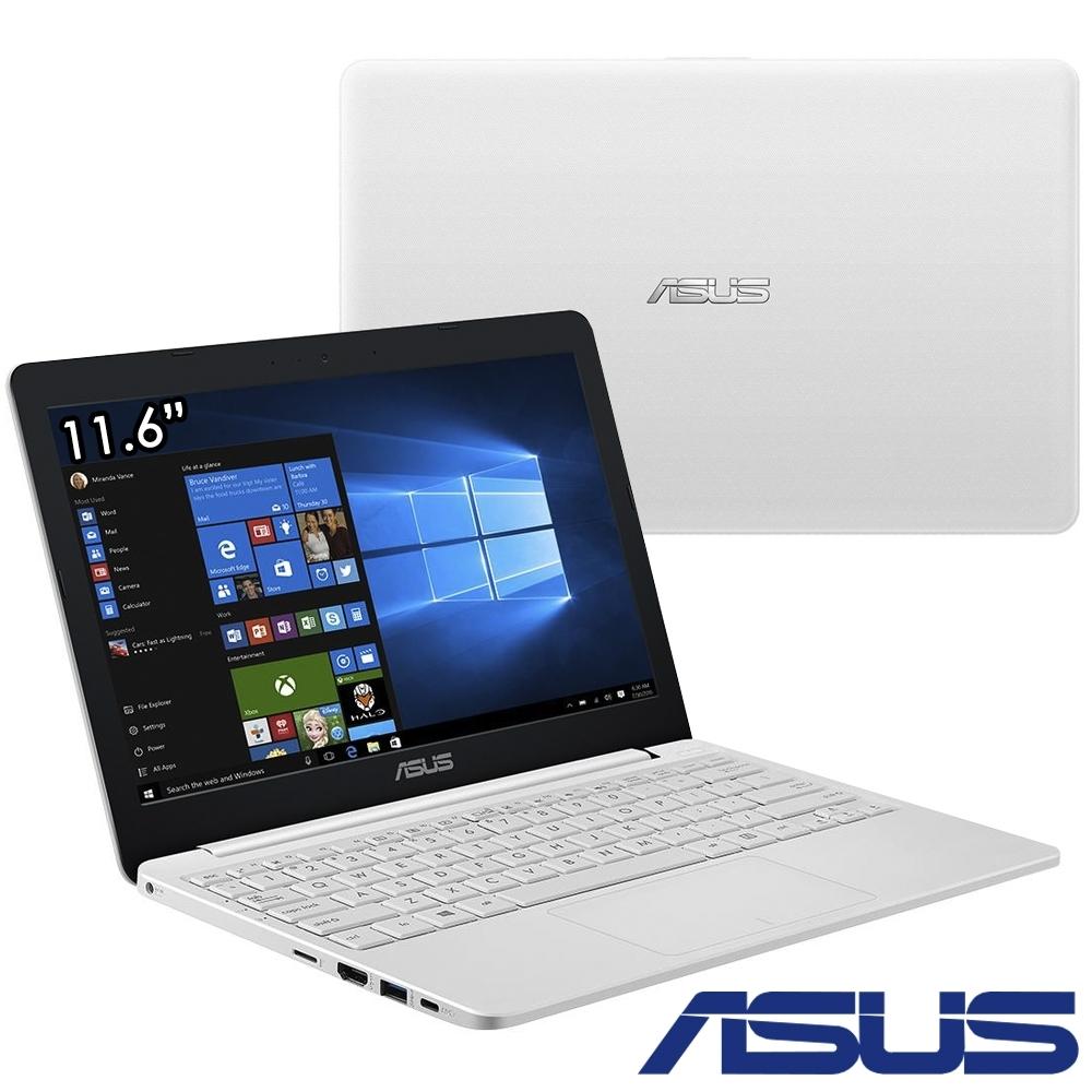 ASUS E203MA 11吋筆電(N4000/4G/64G/Win10(S)/白)