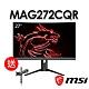 msi微星 Optix MAG272CQR 27型 曲面電競螢幕(送MAG-MT81螢幕壁掛架) product thumbnail 1