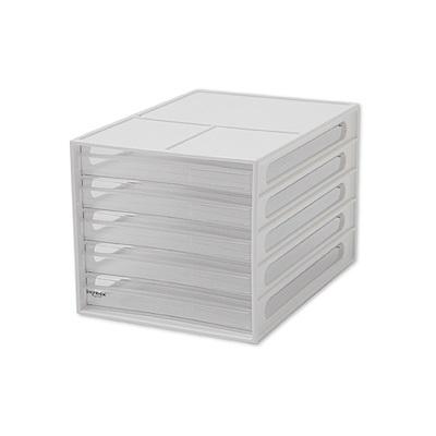 完美主義 桌上型資料櫃/文件櫃/五抽(2色)