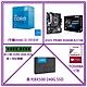 Intel i3-10105F處理器+ASUS PRIME B560M-K/CSM主機板+金士頓8G DDR4 2666記憶體+美光BX500 240G SSD+TOSHIBA 1TB內接硬碟 product thumbnail 1