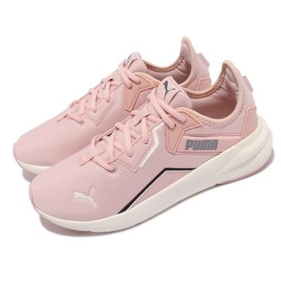 Puma 休閒鞋 Platinum Shimmer 女鞋 運動慢跑 基本款 透氣 緩震 粉 黑 19377201