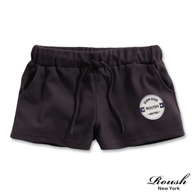 Roush 女生美式華夫格棉短褲(3色)