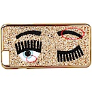Chiara Ferragni Flirting i6s Plus眨眼亮片手機殼(展示品)
