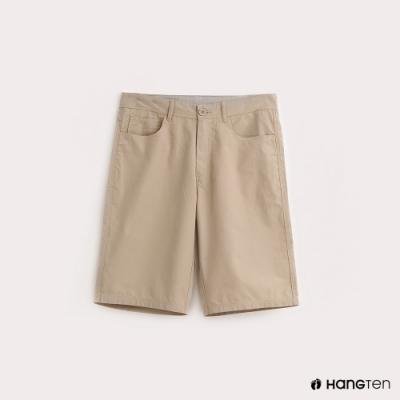 Hang Ten-ThermoContro-男裝純色機能短褲-卡其