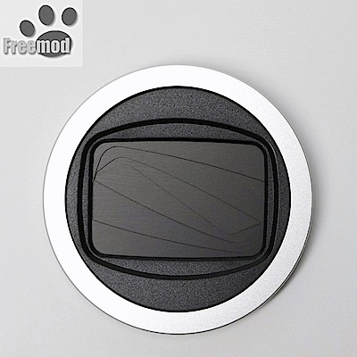 台灣製造Freemod半自動鏡頭蓋 半自動蓋X-CAP2銀色(口徑:37mm鏡頭蓋)半自動開啟關閉lens cap