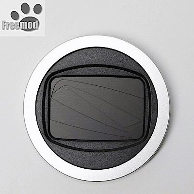 台灣製造Freemod半自動鏡頭蓋 半自動蓋X-CAP2銀色(口徑:43mm鏡頭蓋)半自動開啟關閉lens cap
