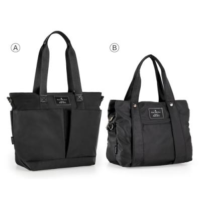【時時樂限定】74盎 Simple多夾層設計手提側背包[LG-797-SI-W][LG-798-SI-W](二款)