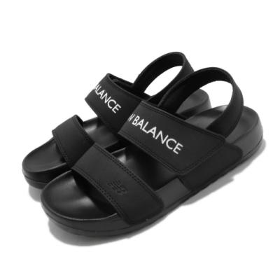 New Balance 涼拖鞋 SD3601GBKM 套腳 女鞋 紐巴倫 基本款 簡約 舒適 夏日 輕便 黑 白 SD3601GBKM