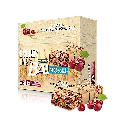 BAKALLAND櫻桃莧菜籽穀物棒(30gx6入)