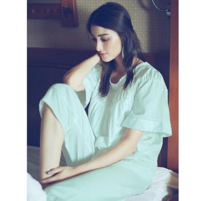 曼黛瑪璉 Marie One 九分褲 (水藍)