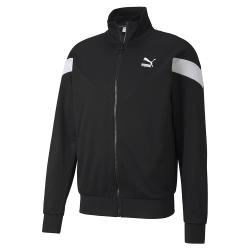 PUMA-男性流行系列MCS立領外套-黑色-歐規