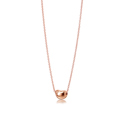 Tiffany&Co. 18K玫瑰金 相思豆項鍊