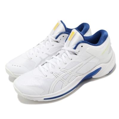 Asics 籃球鞋 Gelburst 24 Low 低筒 男鞋 亞瑟士 低筒 回彈 耐磨 亞瑟膠 白 藍 1063A027101