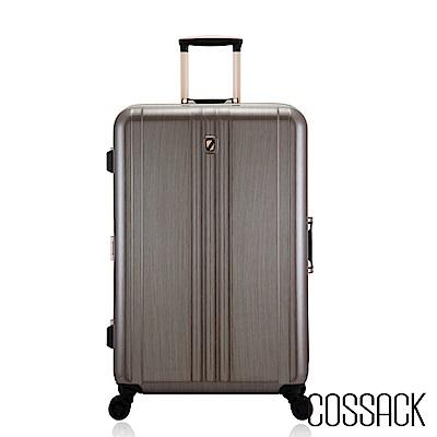 Cossack-CLASSIC經典-26吋PC鋁框行李箱-金色髮絲