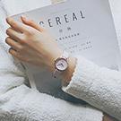 watch-123 閨蜜少女心-日系小錶盤凸刻度手錶 (2色任選)