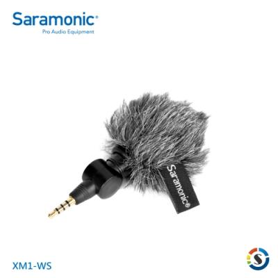 Saramonic楓笛 XM1-WS 迷你麥克風防風毛套