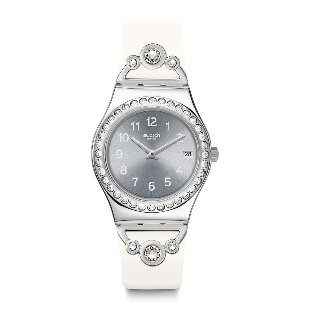 Swatch PRETTY IN WHITE 派對女王手錶