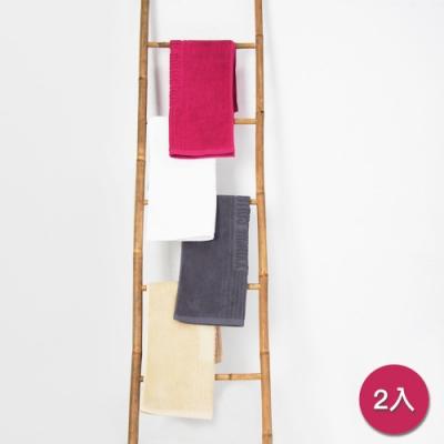 Yvonne Collection 毛巾浴室地墊2入(50x80cm)-嫣紫