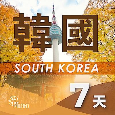 【PEKO】韓國上網卡 7日高速4G上網 無限量吃到飽 優良品質 快速到貨