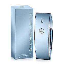 Mercedes Benz 賓士 自由藍調男性淡香水50ml-送沐浴精