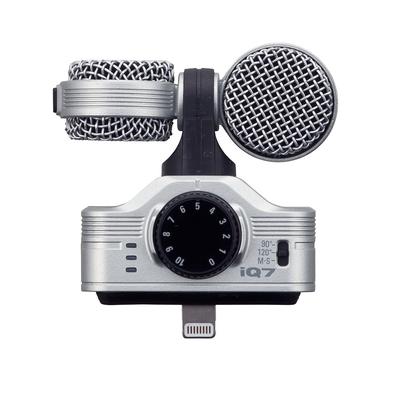 ZOOM iQ7 立體聲數位錄音麥克風IOS專用 (公司貨)