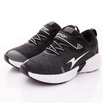 ARNOR時尚潮流鞋 超Q彈輕量跑鞋 NI8230酷玩黑(中大童段)