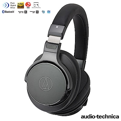 鐵三角ATH-DSR7BT全數位驅動無線耳罩式耳機