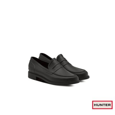 HUNTER - 男鞋-Refined霧面樂福休閒鞋 - 黑