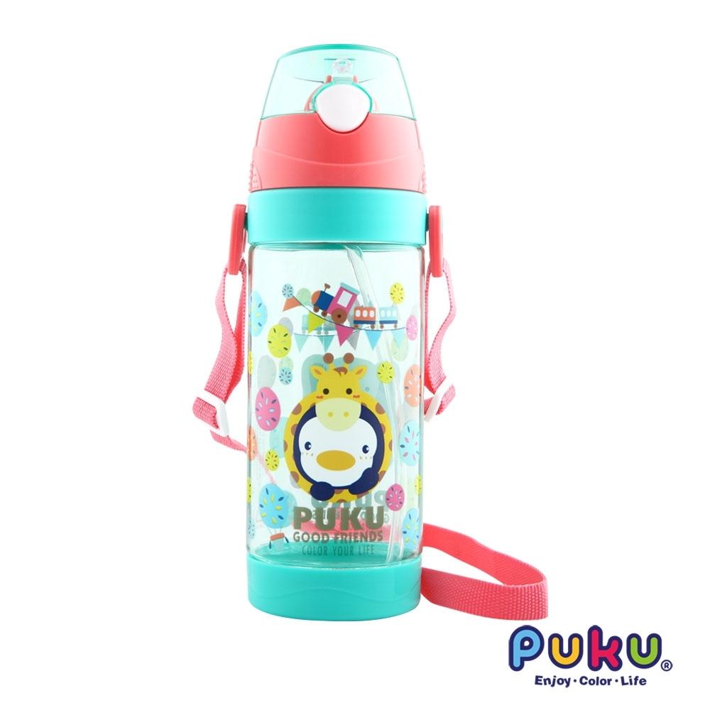 【PUKU】Tritan動物萬花筒水壺550ml