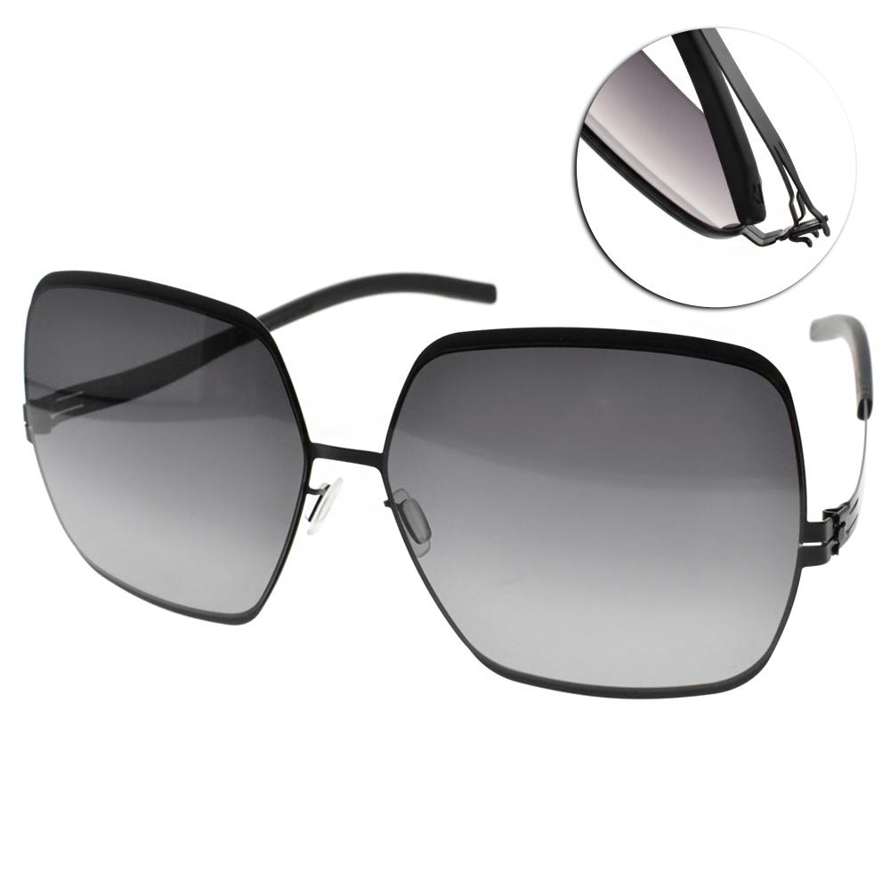 ic!berlin太陽眼鏡 薄鋼/黑-漸層灰 #ANGELINA T. BLACK