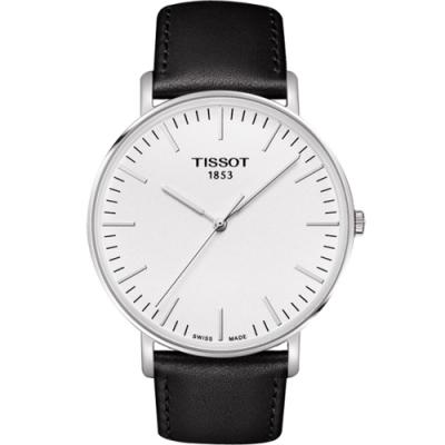 TISSOT EVERYTIME大錶徑時尚錶(T1096101603100)