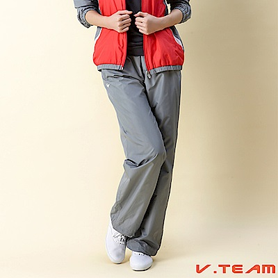 【V.TEAM】風衣長褲-灰-女款