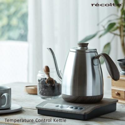 recolte日本麗克特 Control 溫控細口手沖壺RTK-1 (木紋限定款)